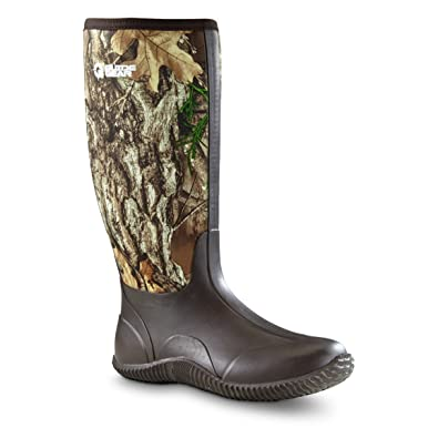 Men's High Camo Bogger Rubber Boots