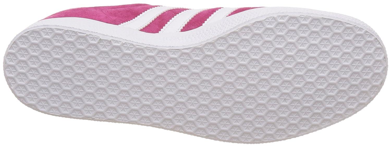 adidas Men's Gazelle Casual Sneakers B01IP4DKOK 8.5 D(M) US Pink White