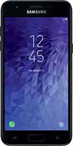 Simple Mobile Samsung Galaxy J3 Orbit 4G LTE Prepaid Smartphone (Locked) - Black - 16GB - Sim Card Included - GSM