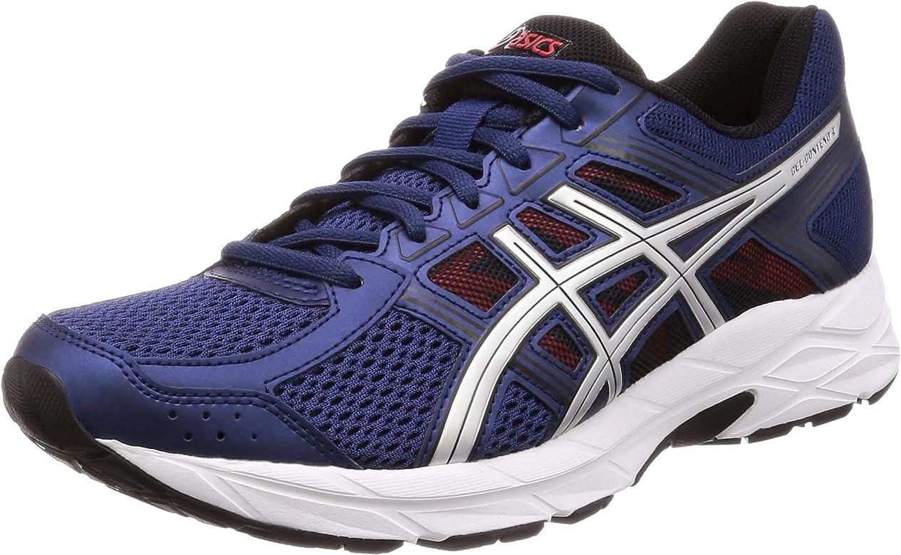 Asics Running Gel Contend 4, Zapatillas de Deporte para Hombre, Azul (Deep Ocean/Silver 400), 40 EU: Amazon.es: Zapatos y complementos