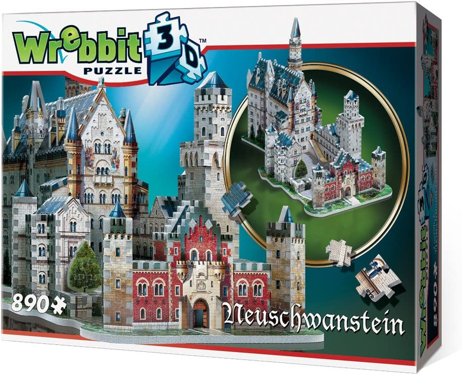 3D PUZZLE Neuschwanstein: Amazon.co.uk