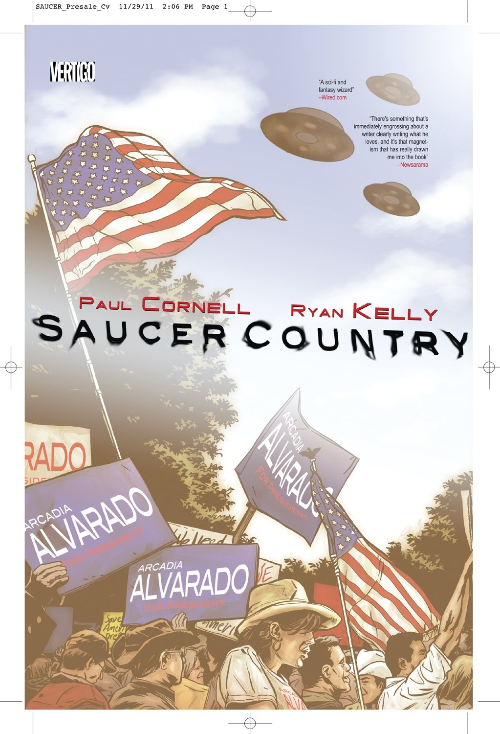 Download Saucer Country Vol. 1: Run pdf