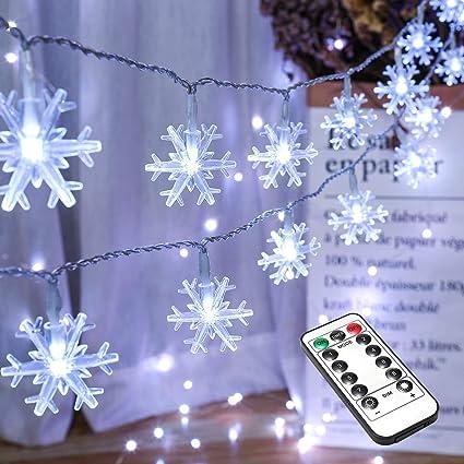 10m 100 LED Christmas Decoration Lights Electric Powered Home Garden Decor BLUE