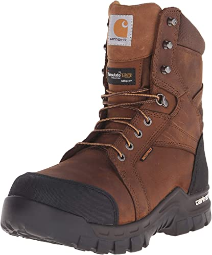 Amazon Com Carhartt Men S Ruggedflex Safety Toe Work Boot Shoes