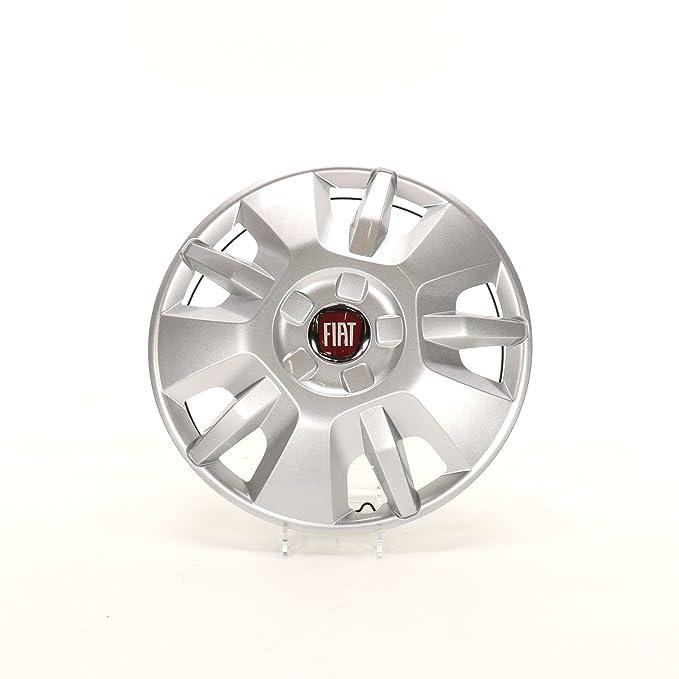 Fiat 1374086080 - Tapacubos original para llantas de acero, Fiat Ducato, 1 unidad, 15