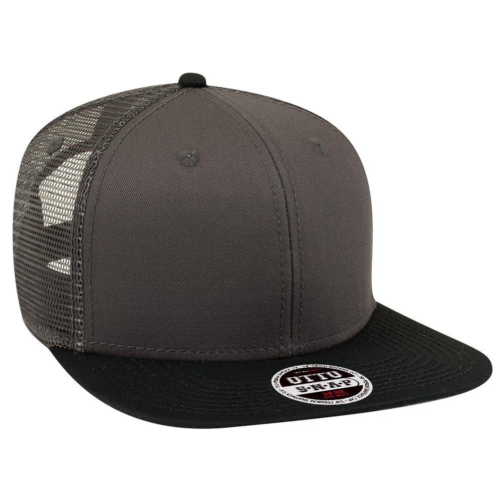 OTTO (12 Pcs Custom Hat Embroidered Logo Flat Visor 6 Panel Mesh Back  Snapback at Amazon Men s Clothing store  bf357ad0ae10