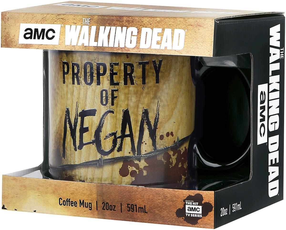 El caminar taza Propiedad Muerto de Negan taza XXL 600 ml de cerámica: Amazon.es: Juguetes y juegos