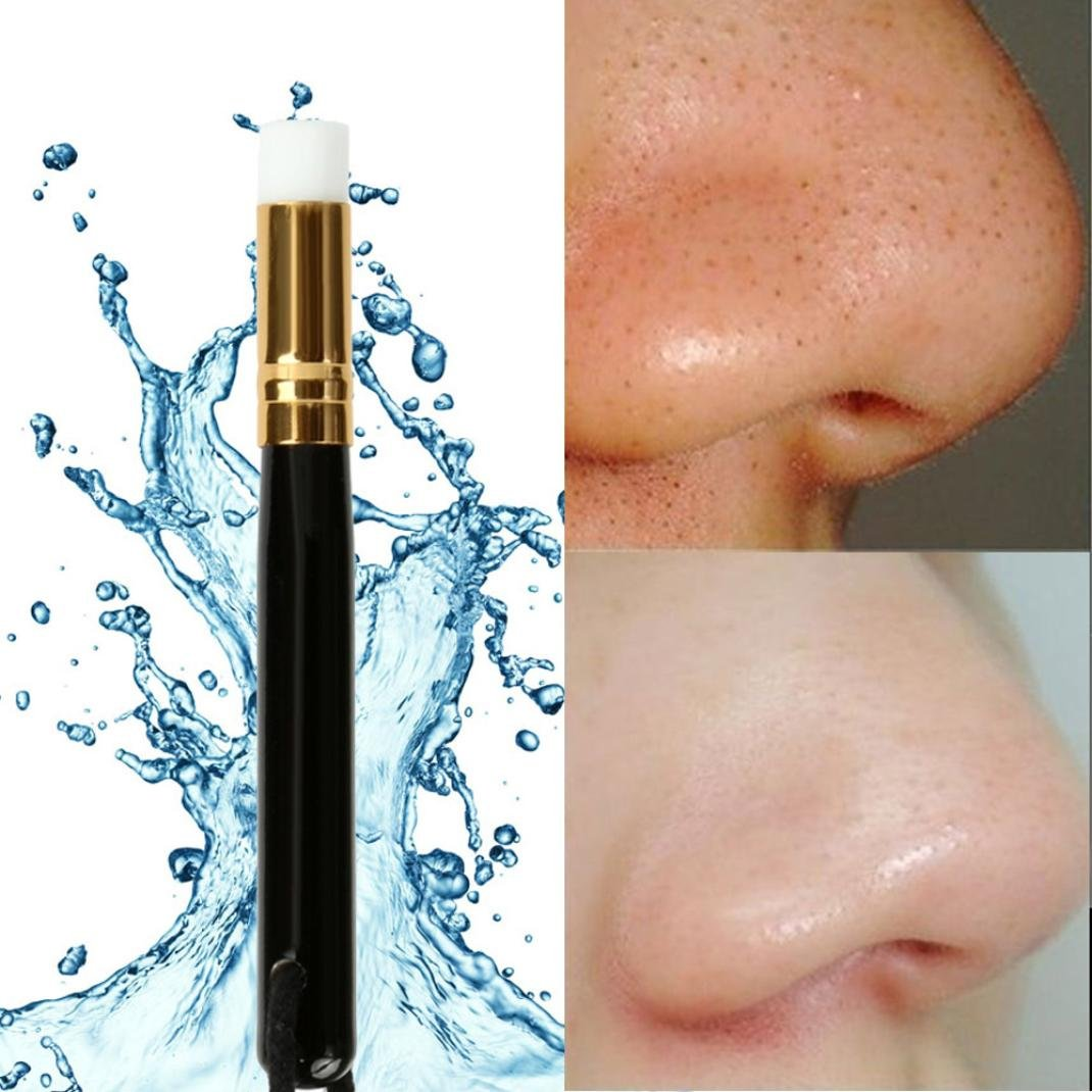 BBire Peel Off Blackhead Nose Cleaning Skin Care Remover Tool Washing Makeup Brush (A)