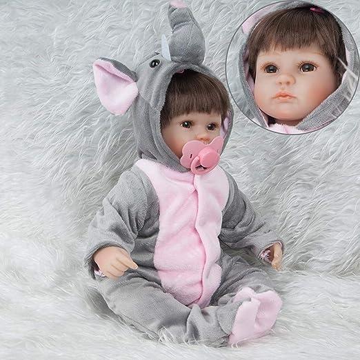 Handmade Lifelike Baby Girl Doll 15 Inch Vinyl Reborn Newborn Dolls Clothes NEW