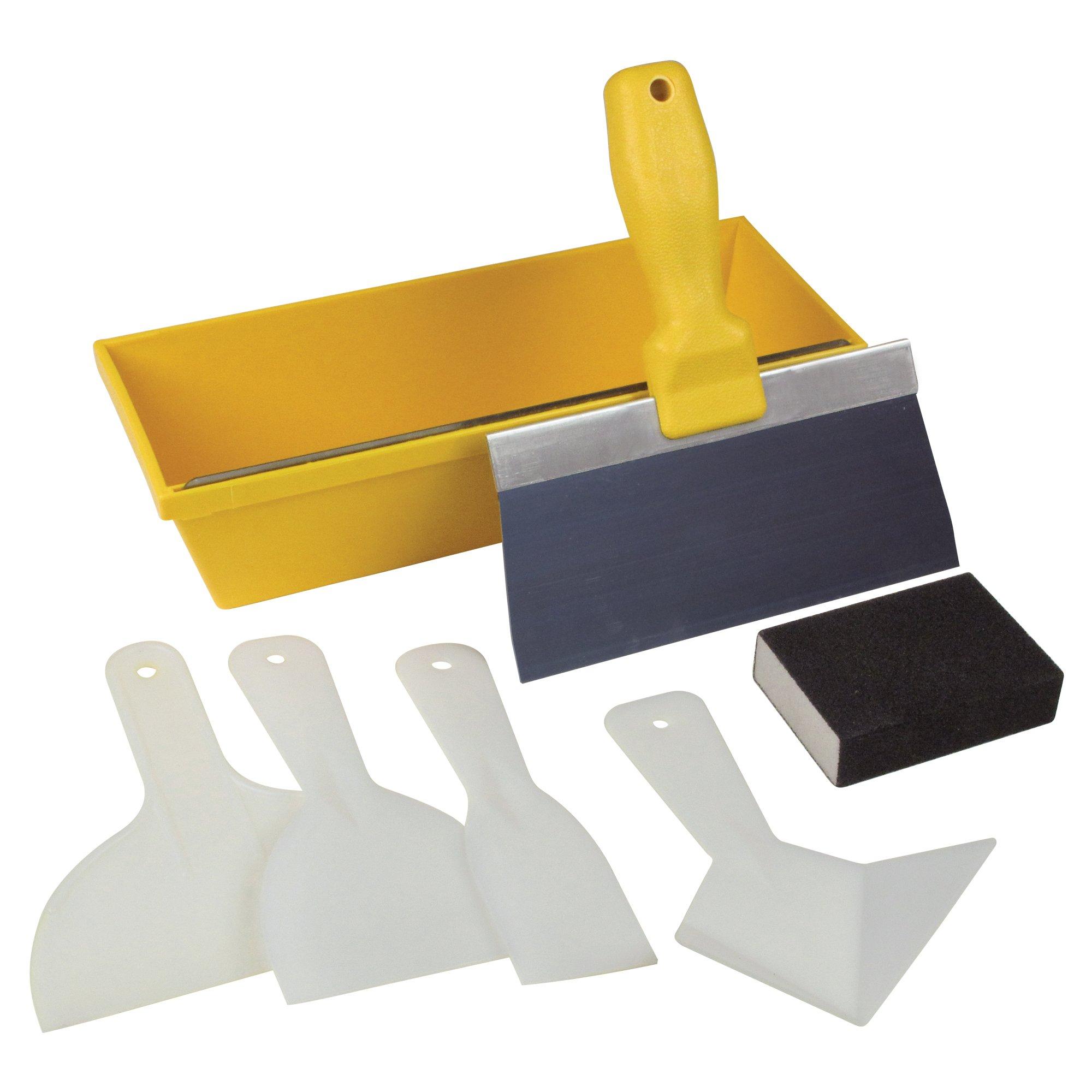 Kraft Tool Kraft HC100 Hi-Craft 7Piece Diy Drywall Repair Kit (1 Set of 7per Pack)