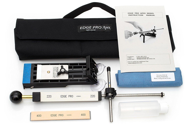 2. Edge Pro Apex 1 Knife Sharpener Kit