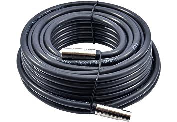 MAST DIGITAL YCAB01H/1-10m Extensión Cable coaxial para TV/TDT ...