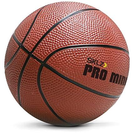 c123b46b Amazon.com : SKLZ Pro Mini Hoop 5-Inch Rubber Basketball : Basketballs :  Sports & Outdoors
