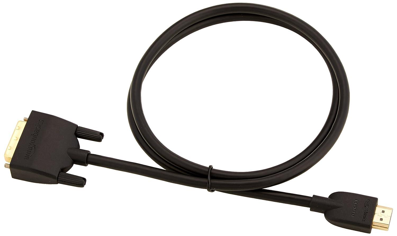 - 0,9 m ultimo standard non per il collegamento a porte SCART o VGA Basics Cavo adattatore da DVI a HDMI