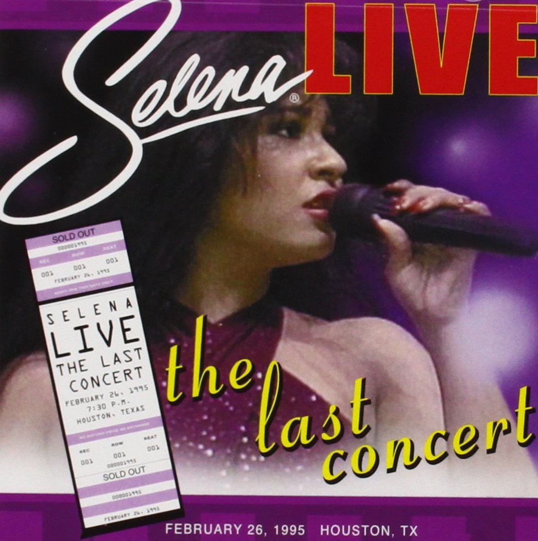 Selena Live - The Last Concert by CD