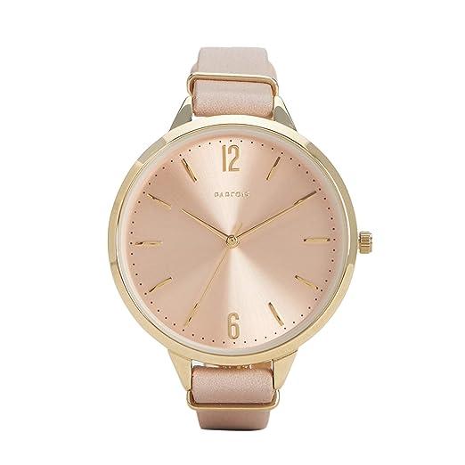 Parfois - Reloj Gold Tray - Mujeres - Tallas Única - Nude: Amazon.es: Relojes