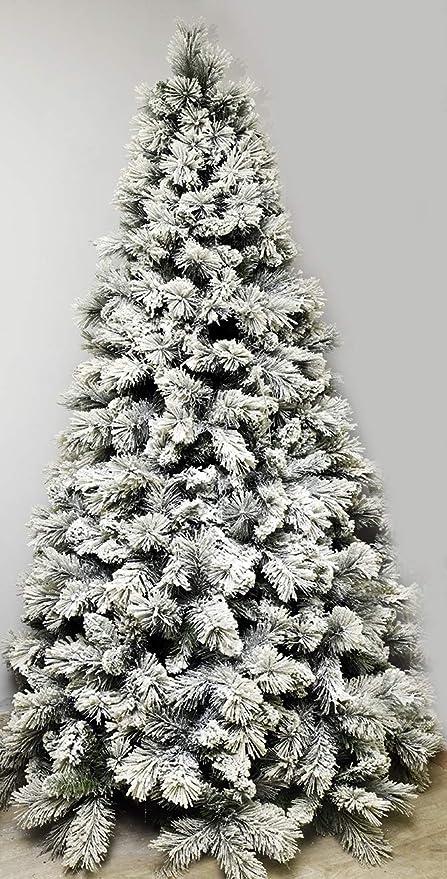 Albero Di Natale Amazon.Albero Di Natale Cortina New Top Innevato Apertura Ramo Per Ramo 165 Cm Amazon It Casa E Cucina