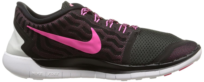 Nike Nike Nike Free 5.0  Damen Laufschuhe Mehrfabig (schwarz/Pink Pow/Pnk Fl/Pnk Glw) ea7532