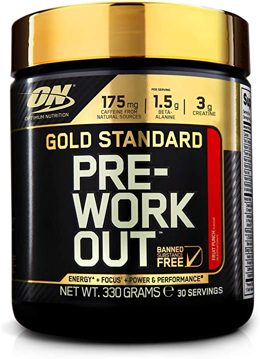 On Gs Pre-Workout Fruit Punch 330G