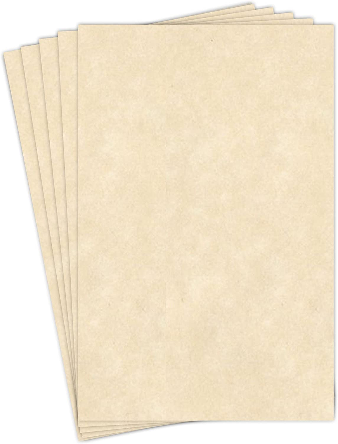 Stationery Parchment, 65lb. Cover Stock 11 X 17 Inches, 50 Sheets (Natural)