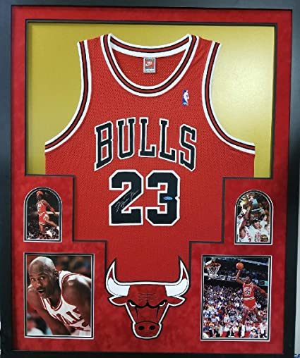 promo code f93e4 d5b10 Michael Jordan Chicago Bulls Signed Autographe Authentic ...