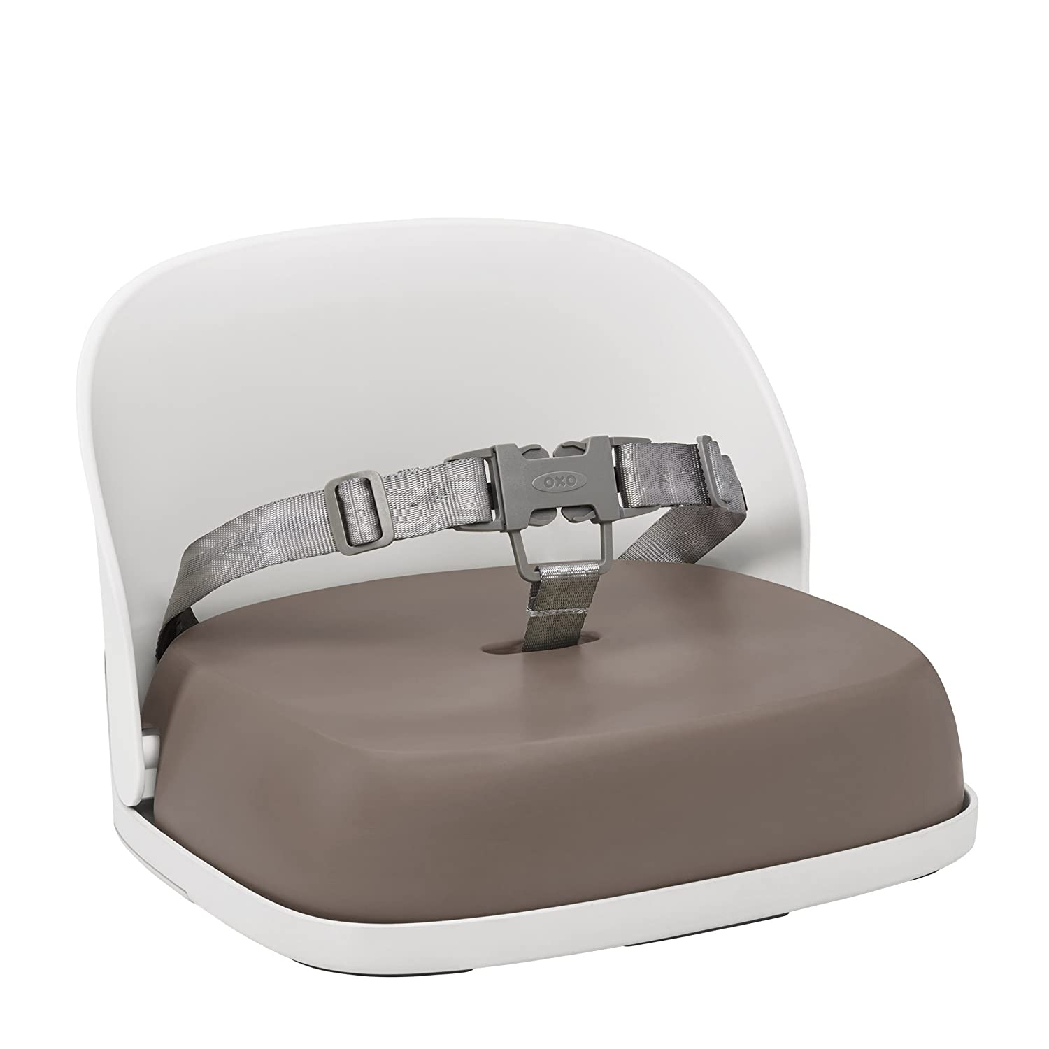 Oxo Tot Perch Booster Seat with Straps, Taupe 6366800