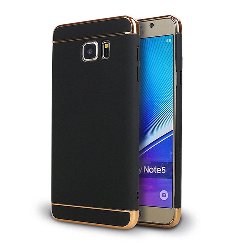 wholesale dealer f7b85 9b88b Amazon.com: Galaxy Note 5 case,3 in 1 Shockproof Ultra Thin Hard ...
