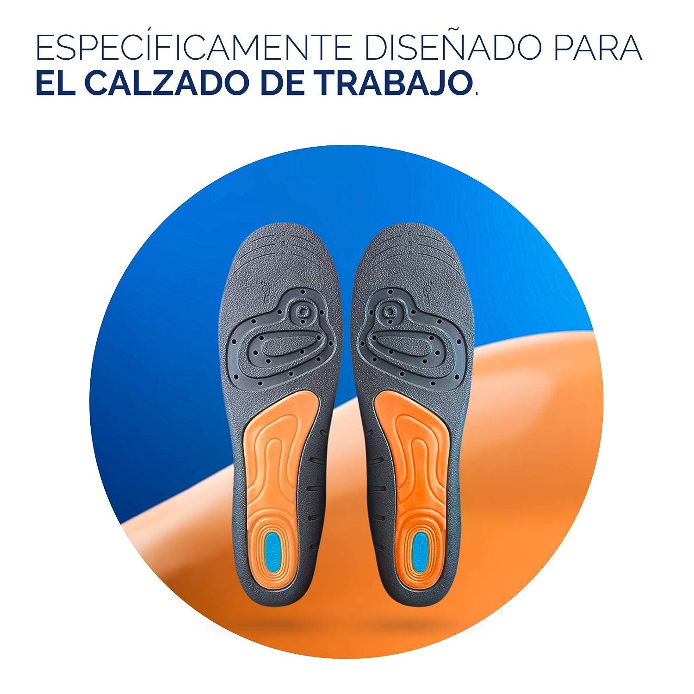a0ff16101cfe4 Scholl Plantillas Gel Activ Profesional Hombre para Calzado Trabajo ...
