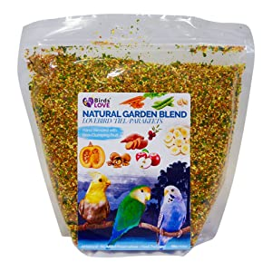 Birds love all-natural garden blend for large birds