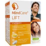 MindCare LIFT, suplemento alimenticio para estado feliz. Aceite de pescado salvaje omega-3