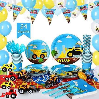 Amazon.com: Set de suministros para fiestas de cumpleaños ...