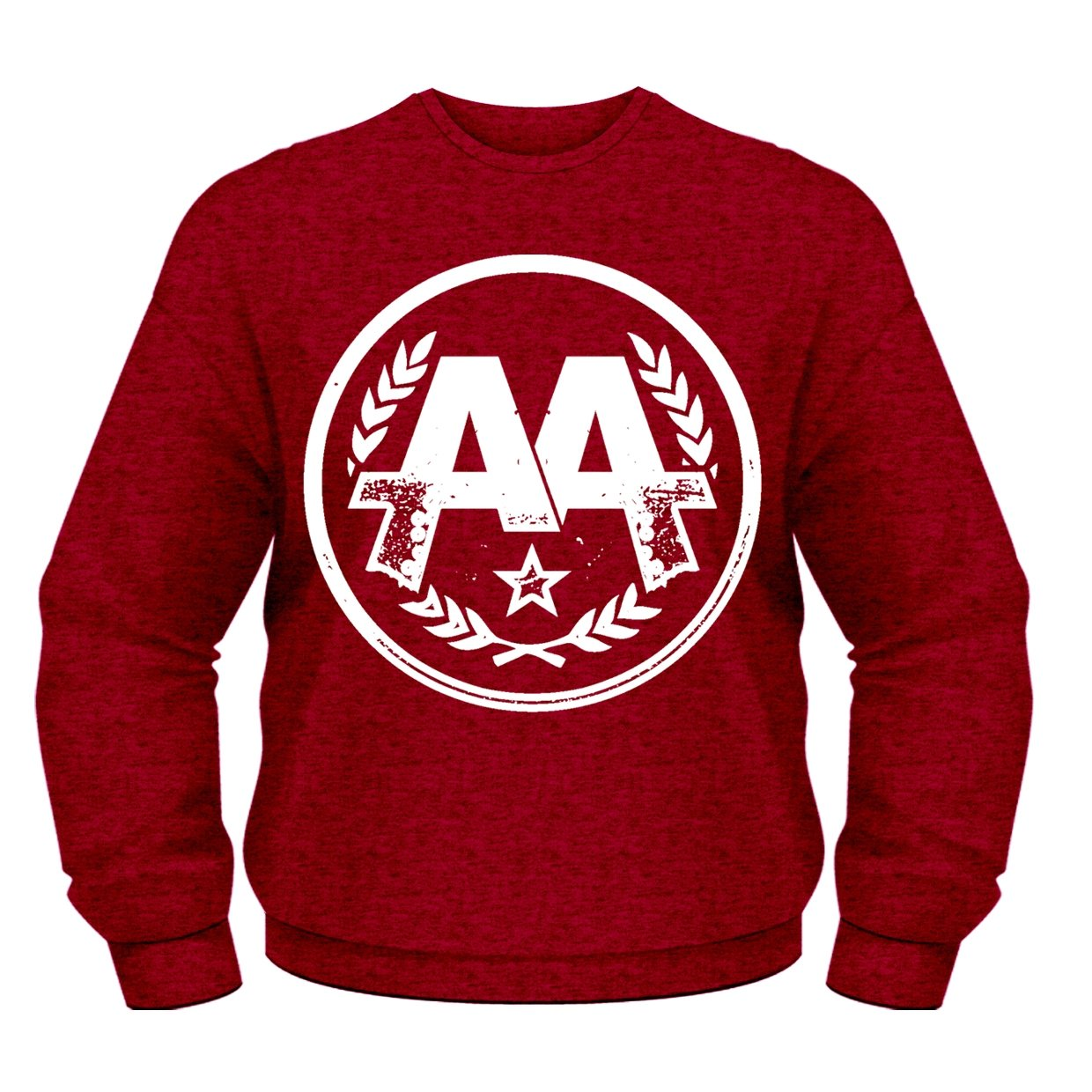 Asking Alexandria Logo Official Mens New Red Sweatshirt Asking Alexandria Logo CSW