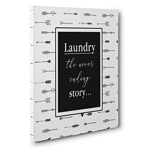 Amazon com: Laundry, The Never Ending Story Canvas Wall Art