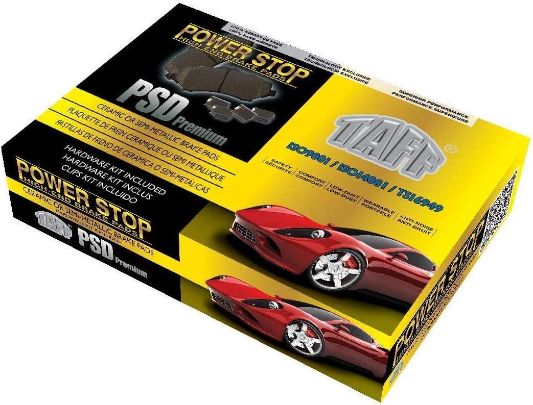 PSD Premium Semi-Metallic Brake Pad Set fits Front 2011 BMW 535i xDrive