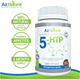 Az Natural Supplements 5HTP 100mg 180 Vegetarian Capsules