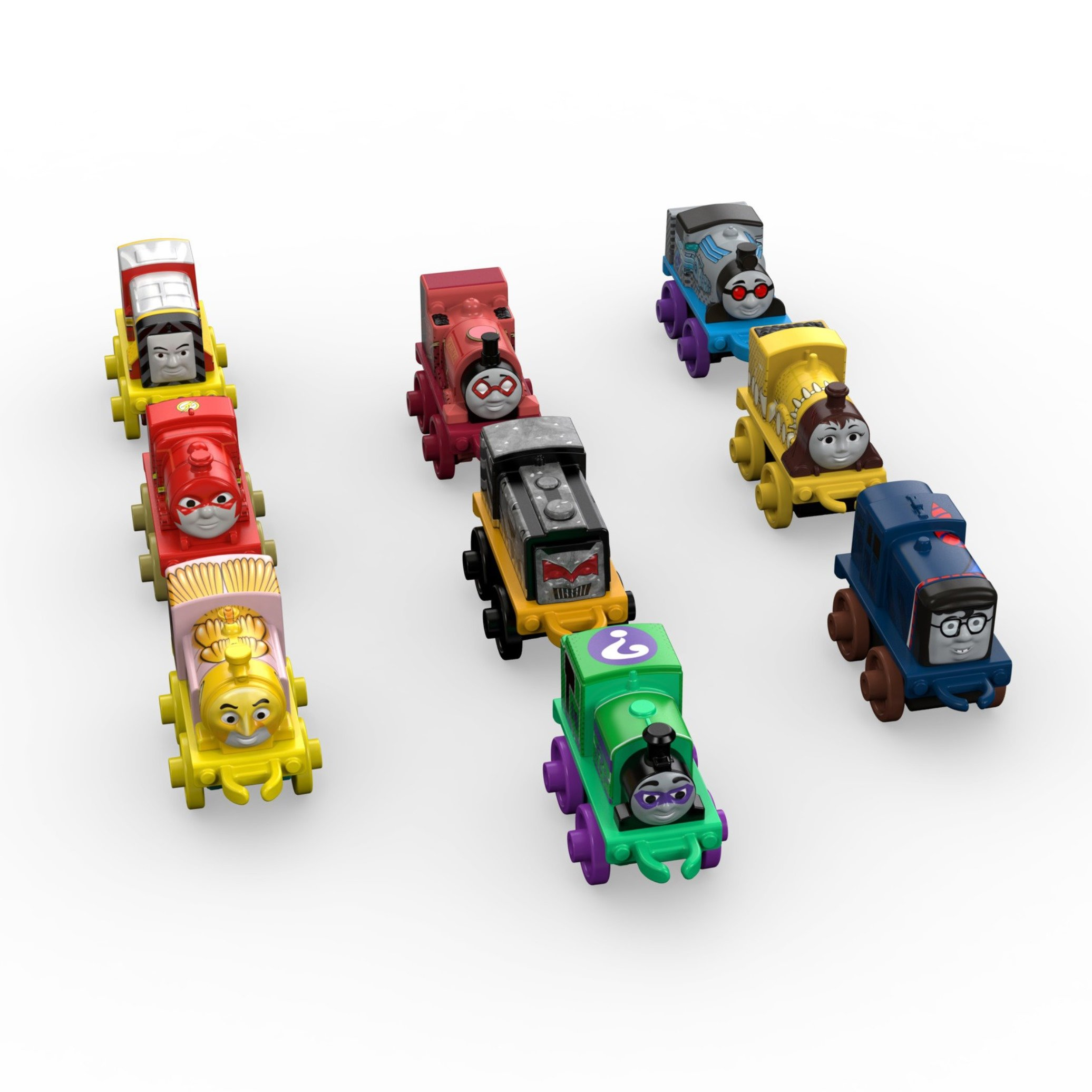 Fisher-Price Thomas & Friends MINIS, DC Super Friends #3 (9-Pack)