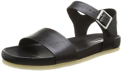 Clarks Originals Dusty Soul, Women Sandals, Black, 4 UK (37 EU)