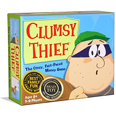 Melon Rind Clumsy Thief Money Math Game - Adding to 100 Card Game for Kids (Ages 8 and up): Toys & Games