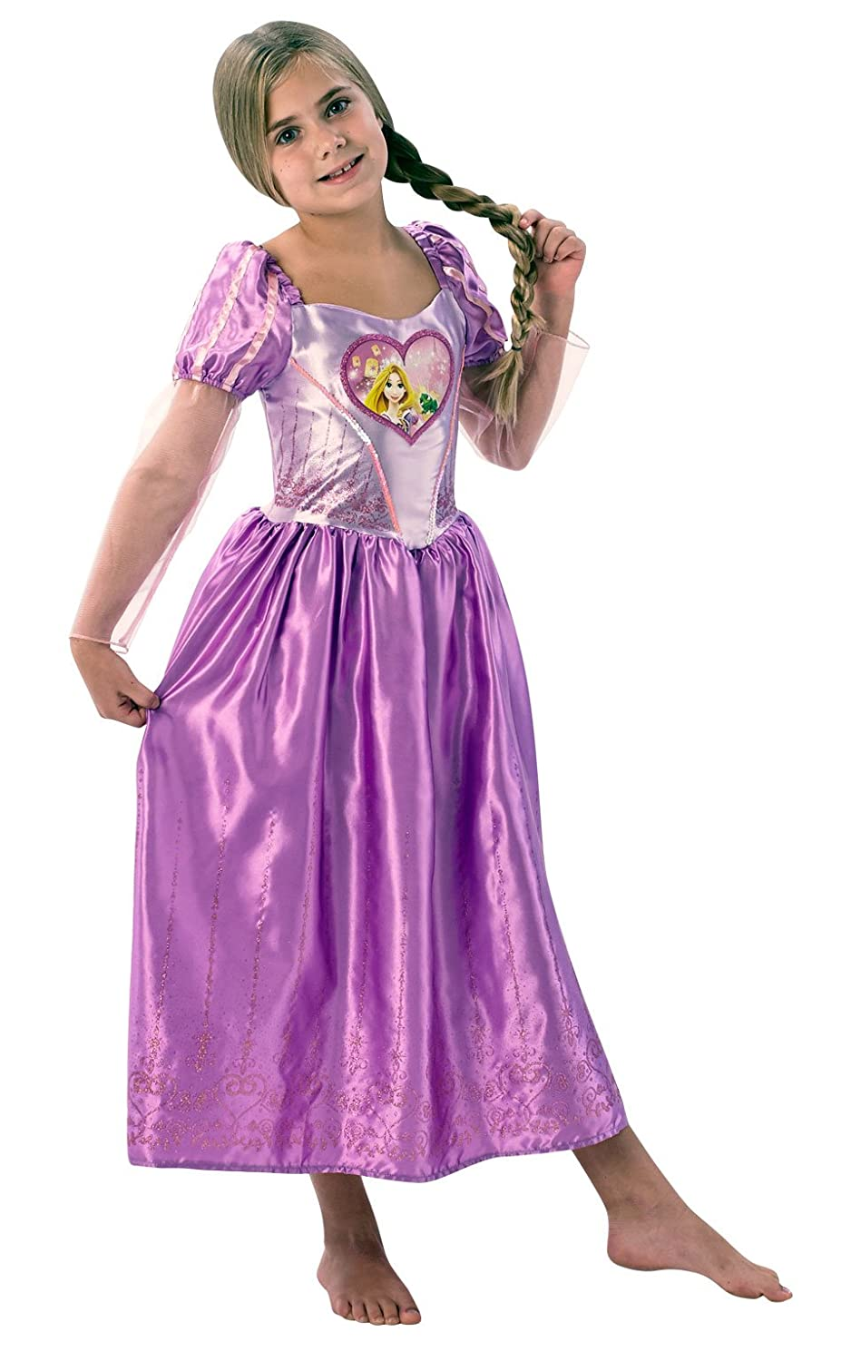 Rubie´s Loveheart Rapunzel Girls Fancy Dress Disney Fairytale Kids Childs Costume Outfit Amazon.co.uk Toys u0026 Games  sc 1 st  Amazon UK & Rubie´s Loveheart Rapunzel Girls Fancy Dress Disney Fairytale Kids ...