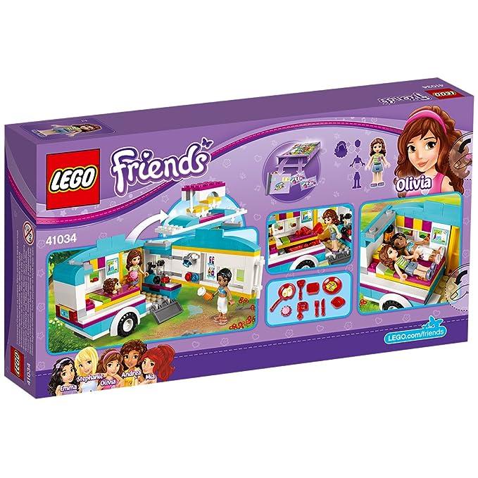 41034 Jeu Des Lego La Friends Construction Vacances Caravane De k0PnOw