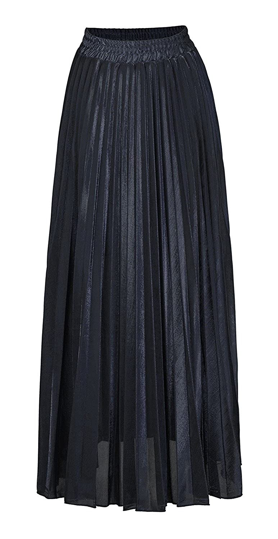 fbb677cd4b21 Black Maxi Skirt Business Casual