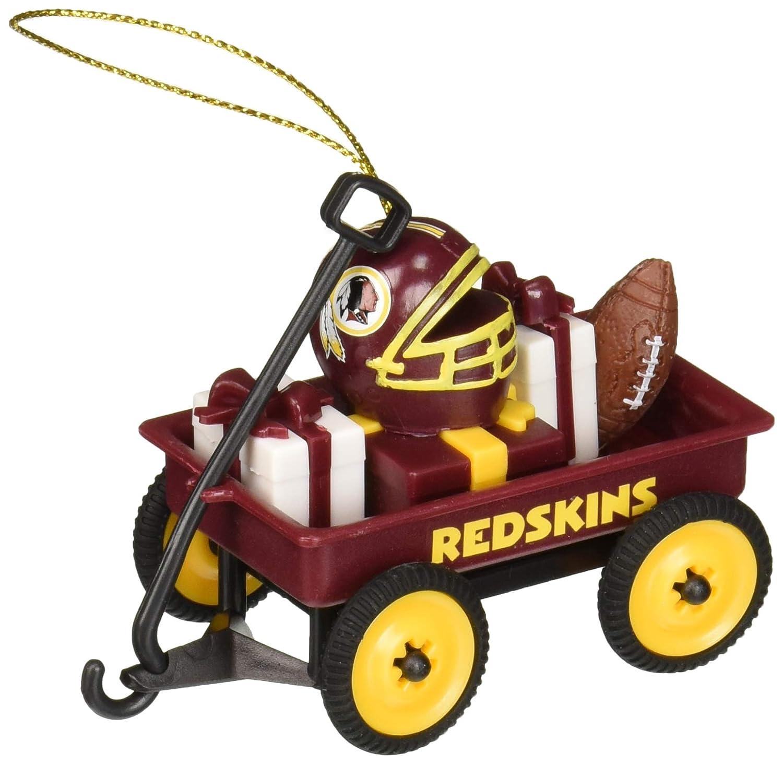 Team Sports America 3OT3831WGN Washington Redskins Team Wagon Ornament