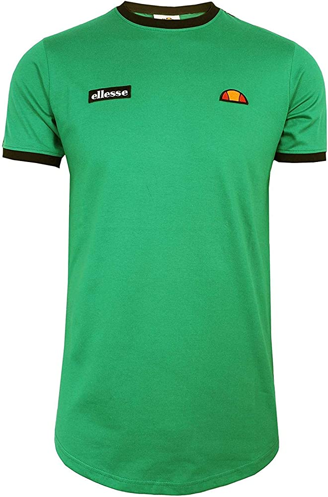 Ellesse Fede T-Shirt Camiseta Hombre Green M: Amazon.es: Ropa y ...