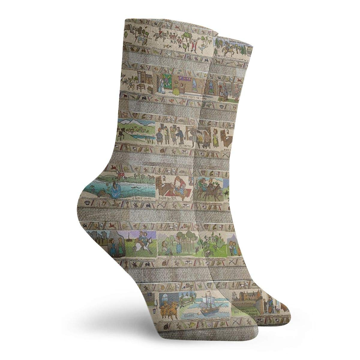 BlueBling Dress Socks The Whole Gabeaux Tapestry Story Of Outlander Stylish Womens Stocking Party Sock Clearance For Men