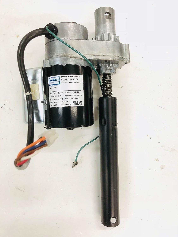 Precor Von Weise V05119AW76 Motor de elevación Inclinado Funciona ...