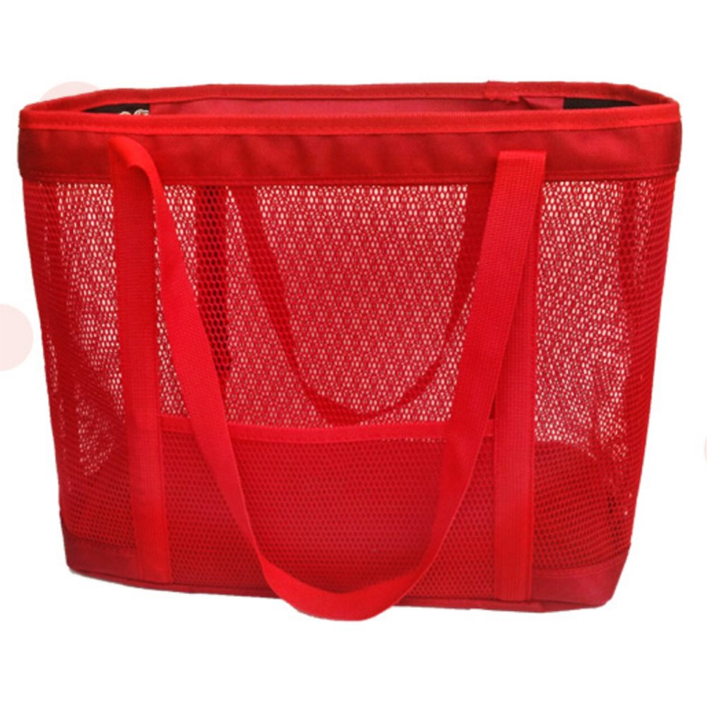 BUYITNOW Portable Full Mesh Pet Carrier Purse for Small Dogs and Cats Travel Soft Sided Shoulder Hand Tote Bag