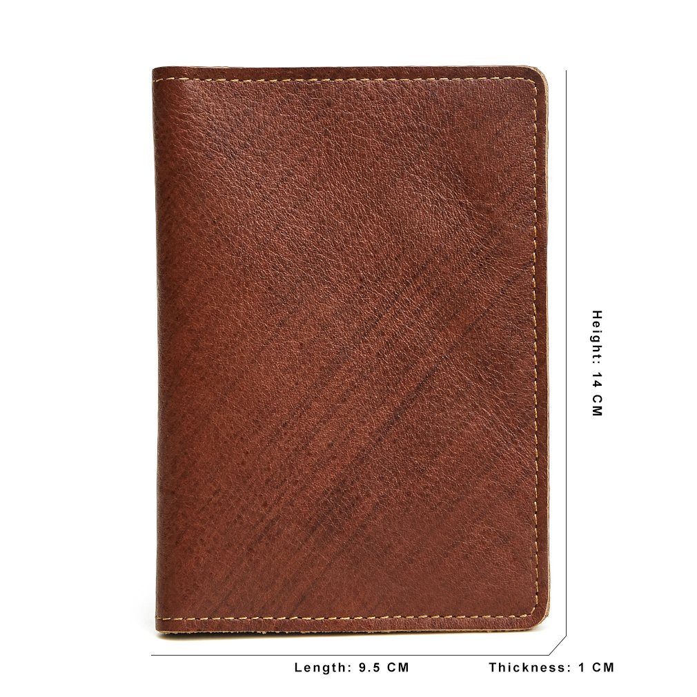 RFID Blocking Mens Womens Leather Passport Wallets Stylish Card Holder