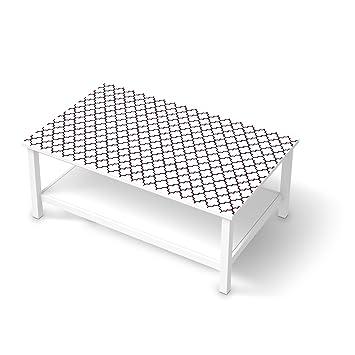Couchtisch ikea hemnes  Klebefolie Sticker Tapete für IKEA Hemnes Couchtisch 118x75 cm ...