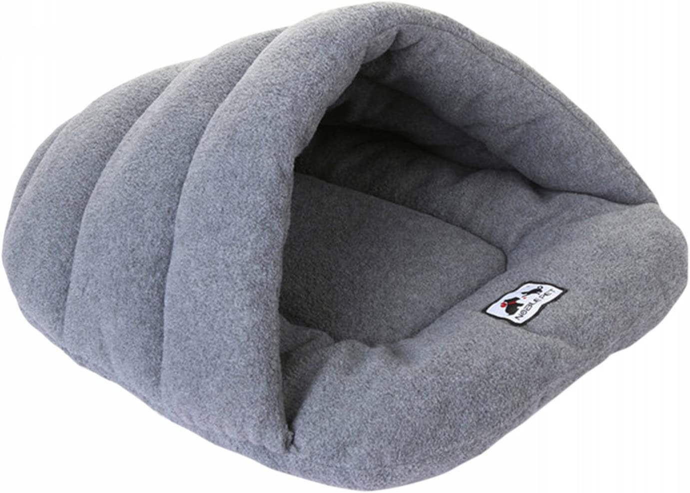 Beskie Pet Cat Puppy Tent Cave Bed for Pets Sleeping Bag Warm Soft Solid Dog Bed Cuddler House Hole Igloo Nest Cozy Bed for Small Medium Large Dogs Cats