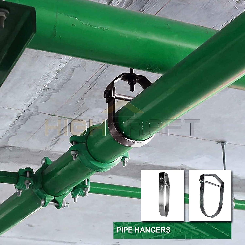 Highcraft HCS-PL06 Clevis Hanger Standard Uncoated Steel 6 in.